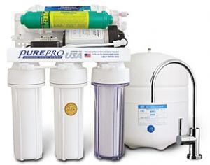 Лукс система за обратна осмоза на PurePro ® с помпа LUX-106A